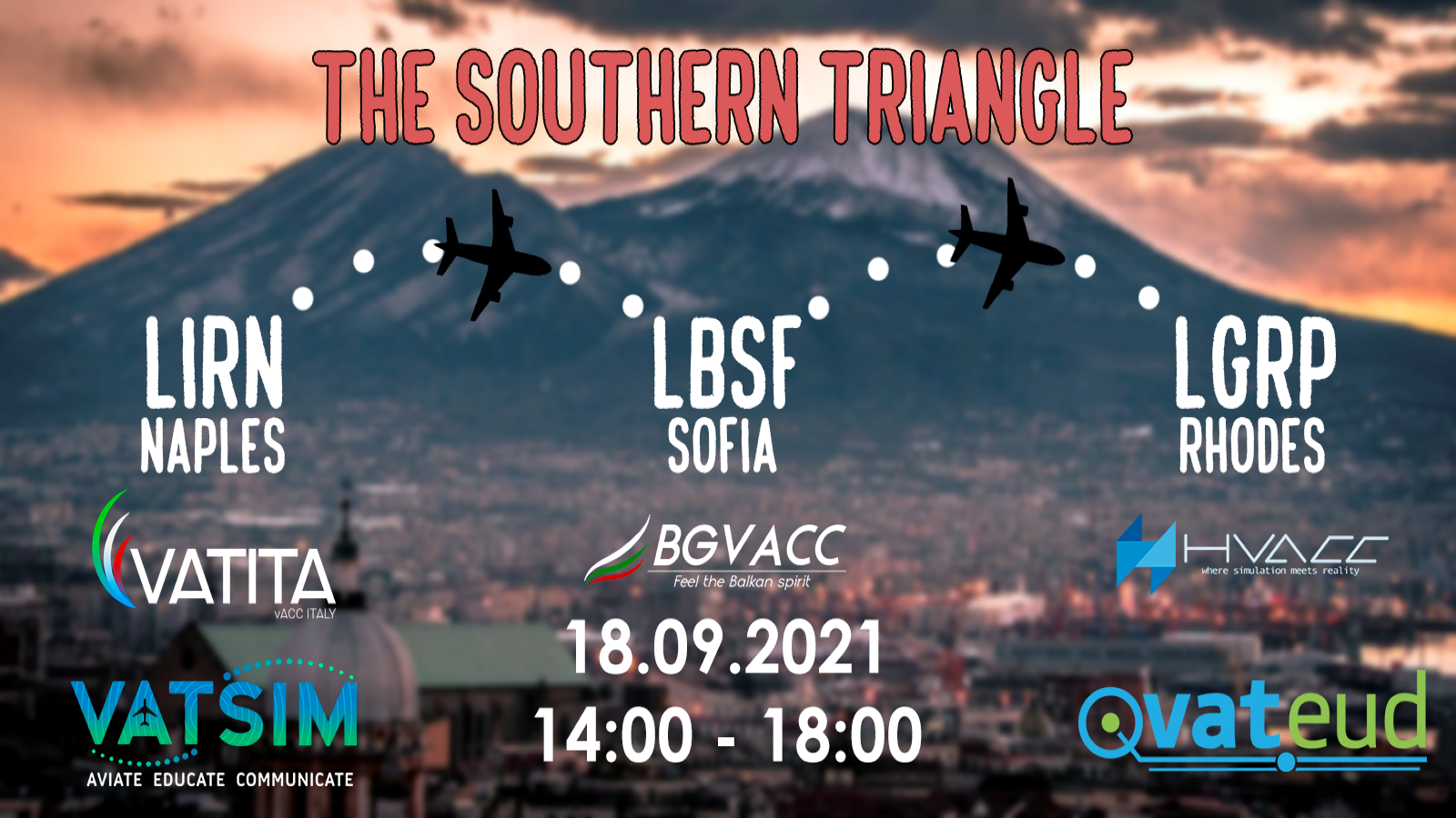 The Southern Triangle   Saturday 18 September   17:00 - 21:00 Local